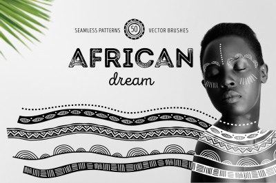 African dream - patterns and brushes