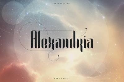 Alexandria Font Family