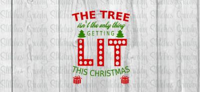 Christmas SVG | Christmas Tree SVG|DXF|EPS|PNG
