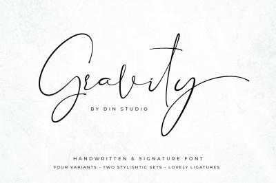 Gravity- Handwritten & Signature