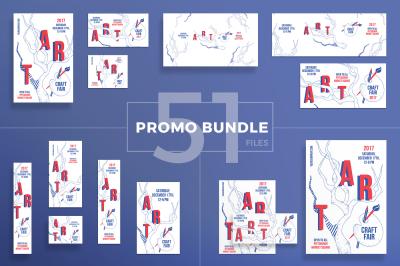 Design templates bundle | flyer, banner, branding | Craft Fair