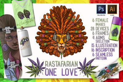 One Love. Rastaman Set