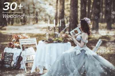 30+ Wedding Lightroom Presets