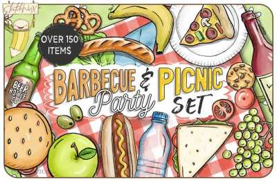 BBQ & Picnic Party Set