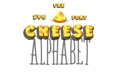 Cheese - 3d Font SVG
