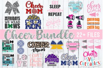 Cheer Bundle #2 | svg Cut Files