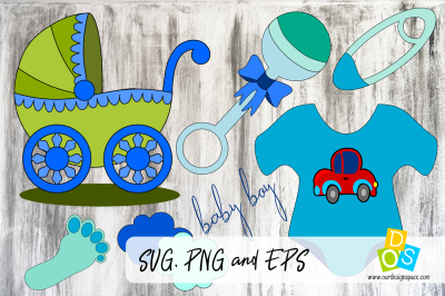 Baby Boy SVG, PNG and EPS files