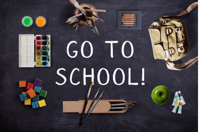 Chalk Font and School Pack