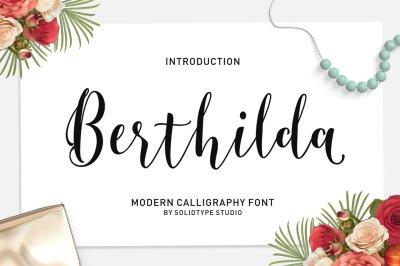 Berthilda Script
