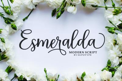 Esmeralda Script