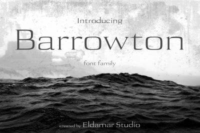 Barrowton Font