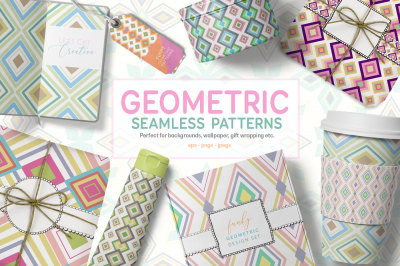Funky Geometric Pattern Set