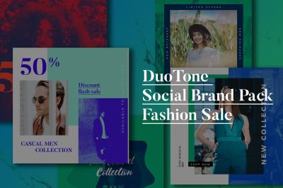 Fashion Duo-Tone Social Media