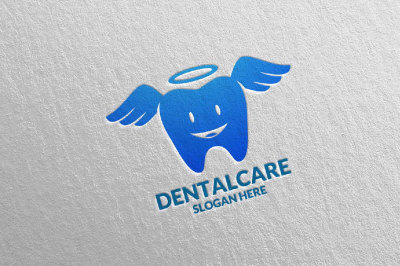 Dental Logo, Dentist Stomatology Logo Design 21