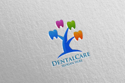 Dental Logo, Dentist Stomatology Logo Design 22