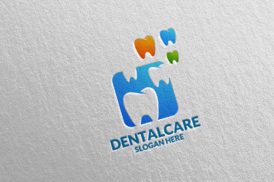Dental Logo, Dentist Stomatology Logo Design 23