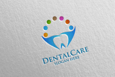 Dental Logo, Dentist Stomatology Logo Design 24
