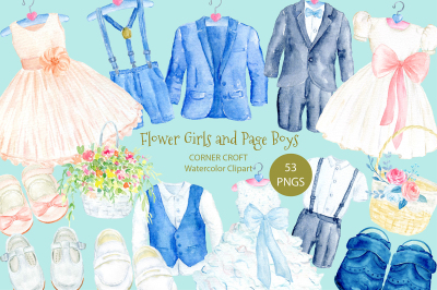 Flower Girl and Page Boy Outfit