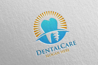 Dental Logo, Dentist Stomatology Logo Design 26