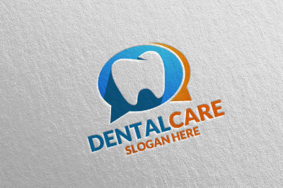 Dental Logo, Dentist Stomatology Logo Design 27
