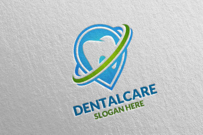 Dental Logo, Dentist Stomatology Logo Design 31