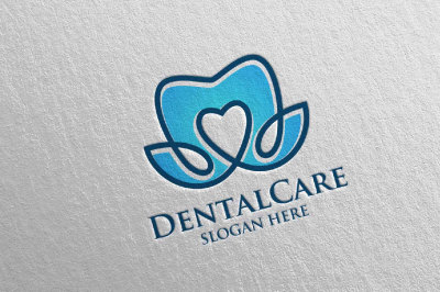 Dental Logo, Dentist Stomatology Logo Design 32