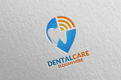 Dental Logo, Dentist Stomatology Logo Design 34