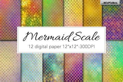 Mermaid Scale Textures