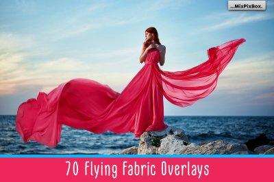 Flying Fabric Overlays