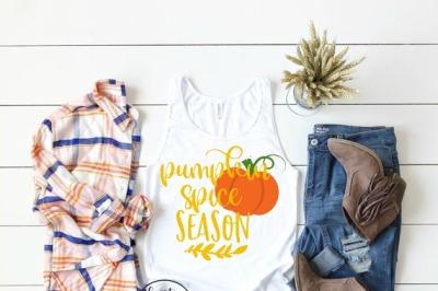 Pumpkin Spice Season SVG DXF EPS PNG Cut File • Cricut • Silhouette