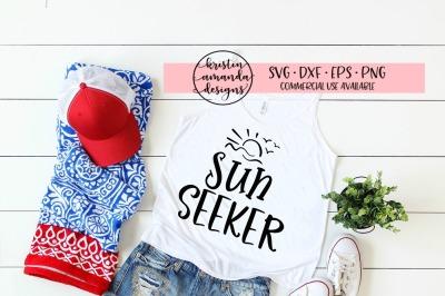 Sun Seeker Summer SVG DXF EPS PNG Cut File • Cricut • Silhouette