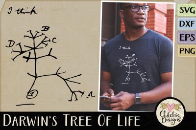 Darwin's Tree of Life SVG Cutting Files