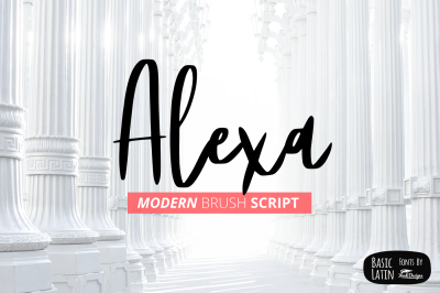 Alexa Modern Brush