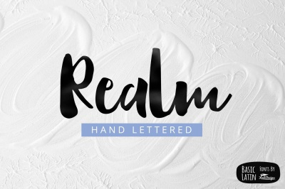 Realm Font