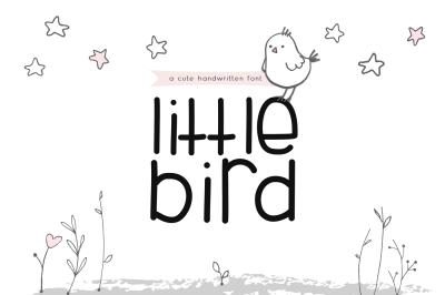 Little Bird - A Cute Handwritten Font