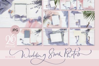Wedding stock photo bundle