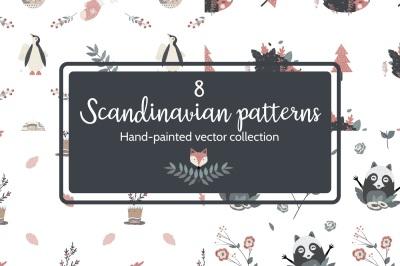 8 Scandinavian patterns