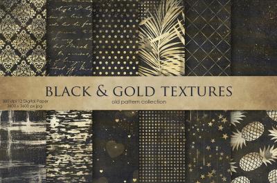 Black & GoldTextures