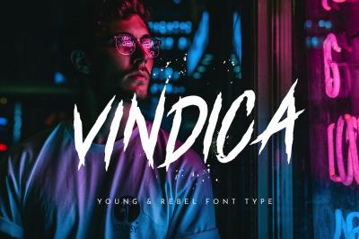 Vindica - Rebel Font