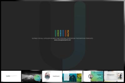 Uranus Powerpoint Template