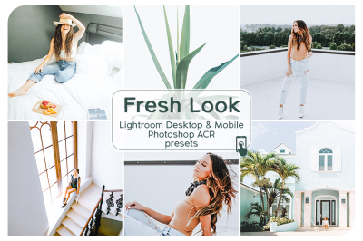 Fresh Look Lightroom Desktop and Mobile Presets