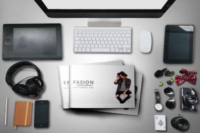 Fashion Minimal Keynote Template