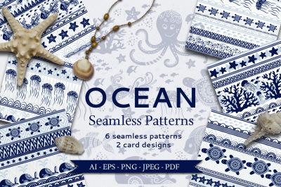 Ocean Seamless Patterns