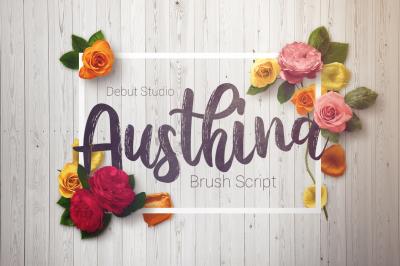 Austhina Brush Calligraphy (Sale!)