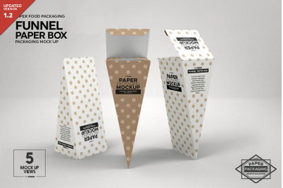 Kraft Gift Box Label Mockup
