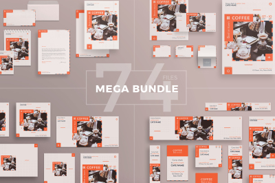 Design templates bundle | flyer, banner, branding | Coffee Bar