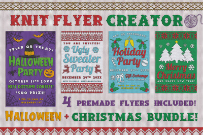 Christmas Ugly Sweater Creator Bundle