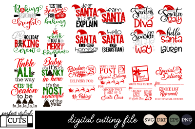 LIMITED TIME! Christmas In July Bundle - Christmas SVG, DXF, EPS, PNG