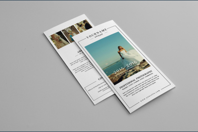Wedding Photographer Trifold Brochure