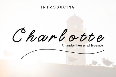 Charlotte Script Tyapeface